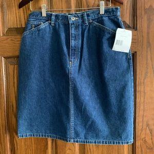 Liz Claiborne Denim Skirt